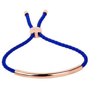 Troli Královsky modrý náramek s růžově pozlacenou ozdobou TO2026