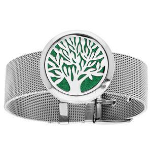 Troli Multifunkční ocelový náramek Strom života s vyměnitelným středem 122473