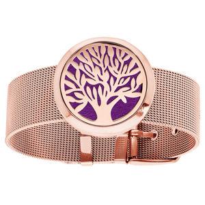 Troli Multifunkční pozlacený náramek Strom života s vyměnitelným středem 122473D