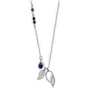 Troli Ocelový náhrdelník s andělskými křídly TO2345