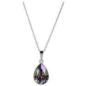 Troli Oslnivý náhrdelník Pear Paradise Shine