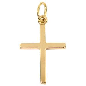 Brilio Zlatý přívěsek Křížek 241 001 00882 - 0,45 g